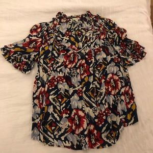 Anthropologie blouse, size 4